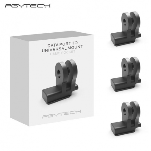 Крепление Osmo Pocket Data Port to Universal Mount PGYTECH |P-18C-031| картинка